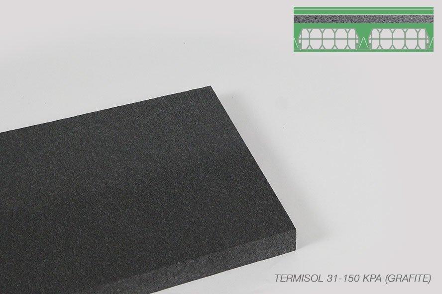 Polistirolo Termisol 34 150KPA grafite