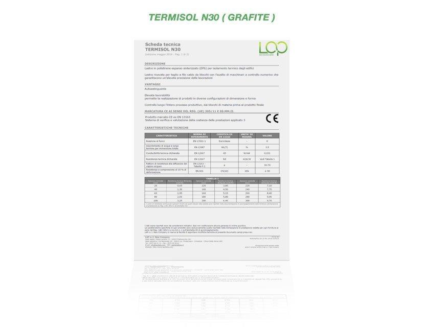 polistirolo termisol n30