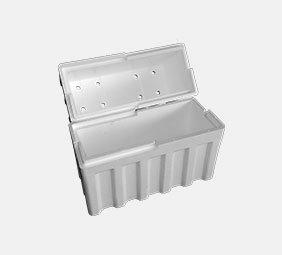 contenitori con coperchio in polistirolo