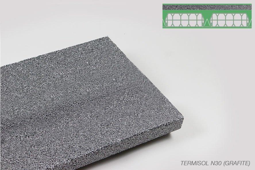 Polistirolo termisol N30 Grafite